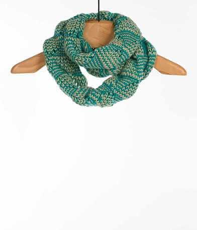 evelyn K Open Weave Infinity Scarf