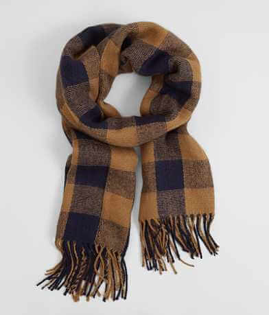 evelyn K Plaid Scarf