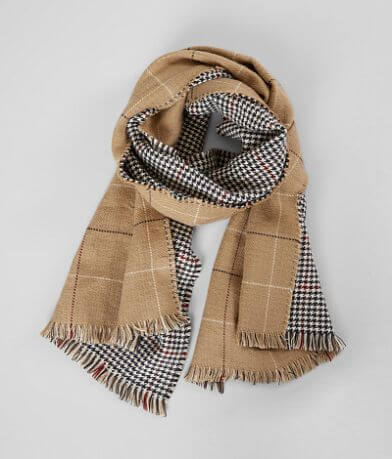 evelyn K Houndstooth Scarf