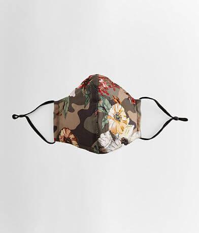 Floral Camo Face Mask