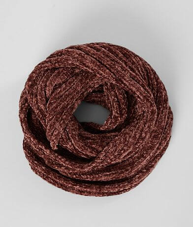 evelyn K Chenille Infinity Scarf