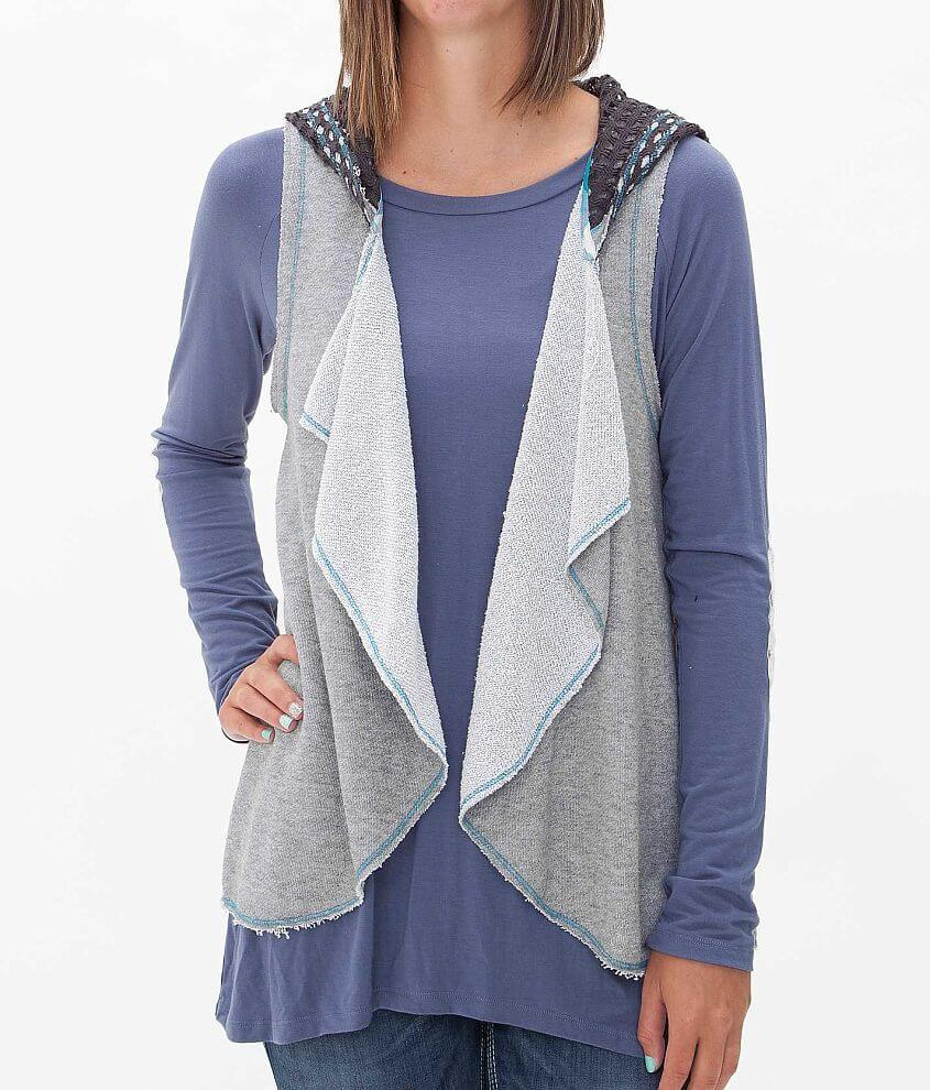 BKE Hooded Vest front view