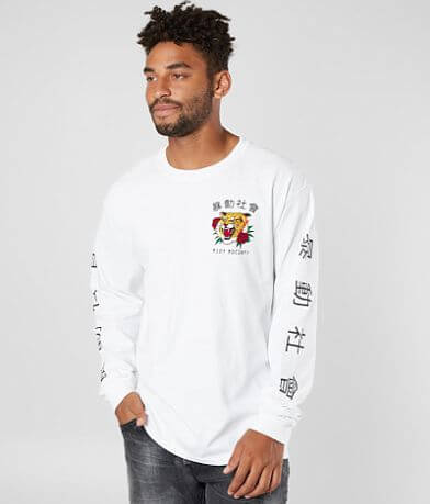 Riot Society Tiger Rose T-Shirt