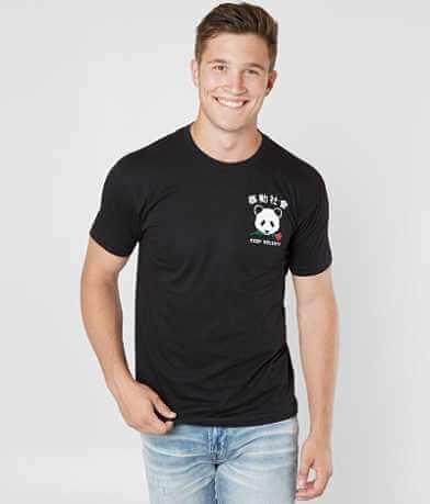 Riot Society Panda Rose T-Shirt