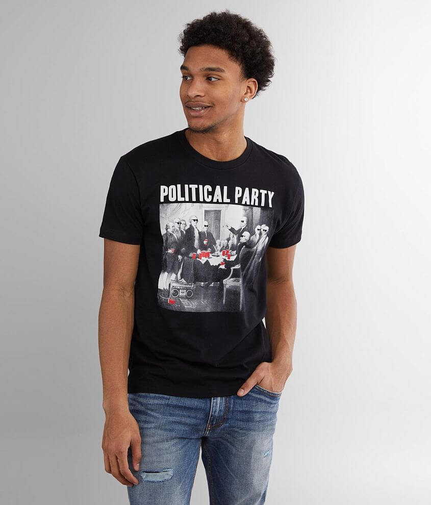 Riot Society Political Party T-Shirt front view
