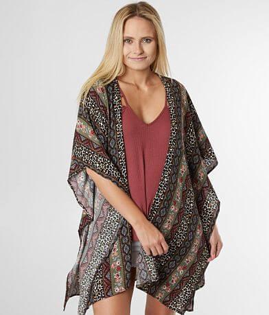 Willow & Root Flyaway Crinkle Kimono