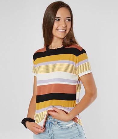 FITZ + EDDI Horizontal Striped T-Shirt