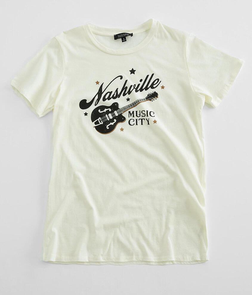 La La Land Nashville Music City T-Shirt front view