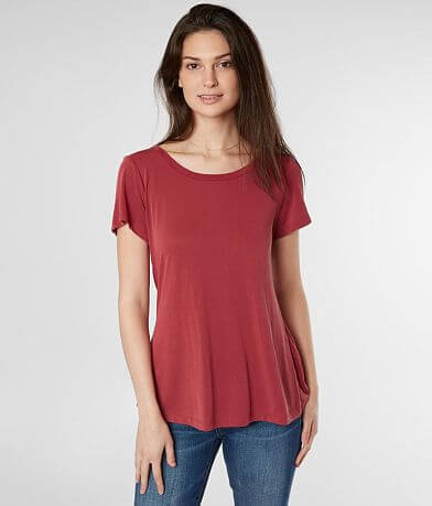 red by BKE Strappy Cowl Back Top