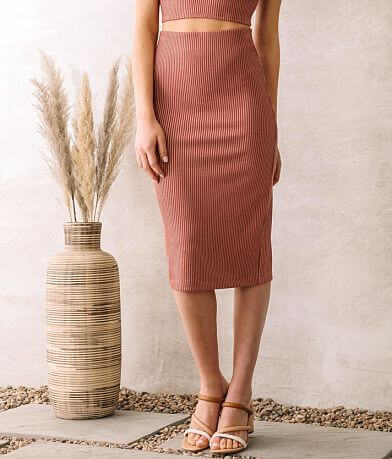 Willow & Root Fitted Pencil Skirt