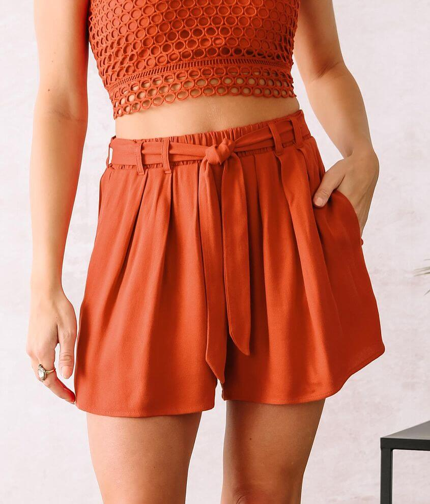 Willow & Root Pleated Short front view