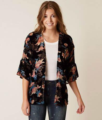 Daytrip Velvet Kimono