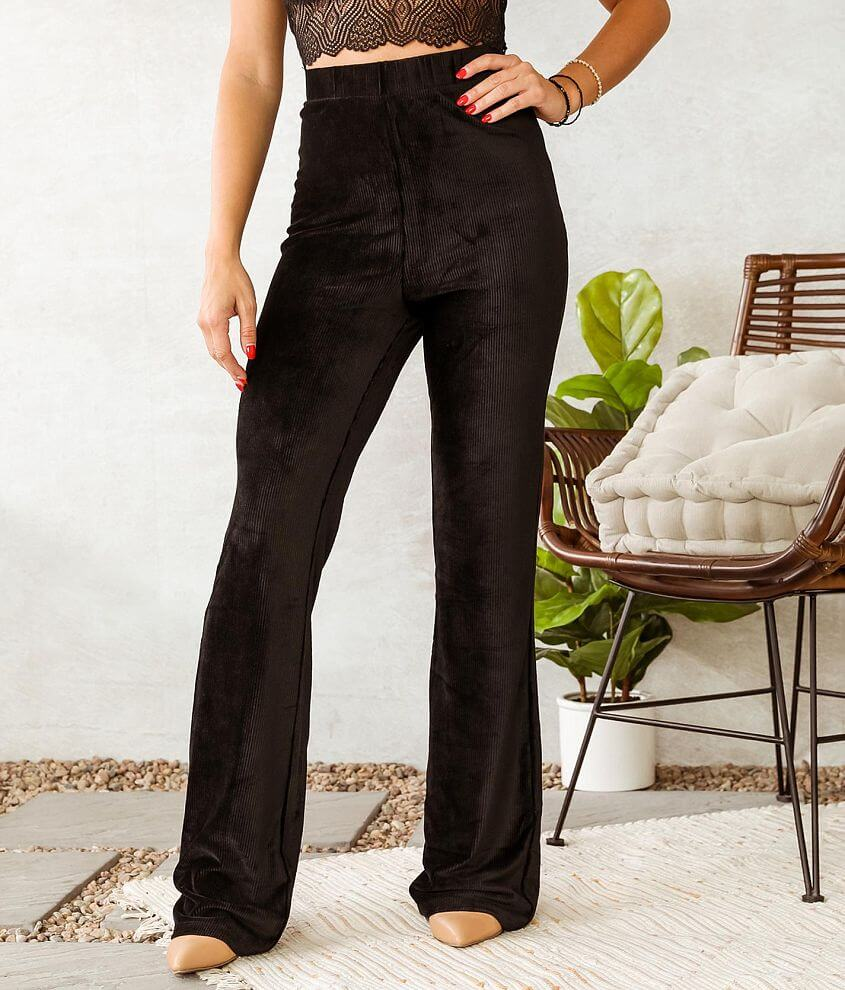 Willow & Root Corduroy Knit Flare Pant