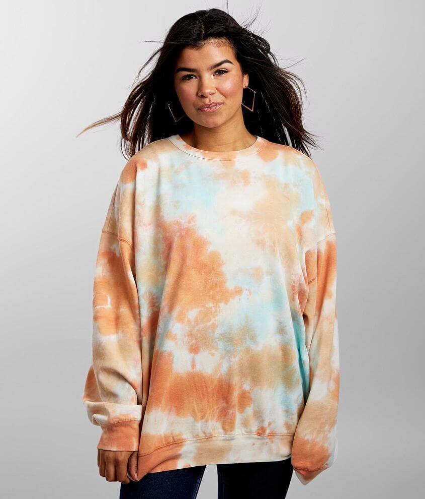FITZ + EDDI Tie Dye Pullover - One Size front view
