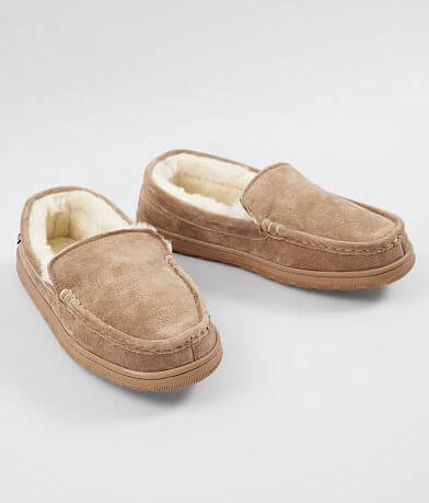 Lamo® Harrison Leather Moccasin Slipper