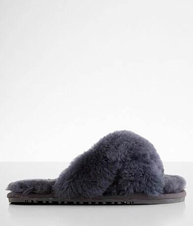 Lamo® Criss Cross Sheepskin Slipper