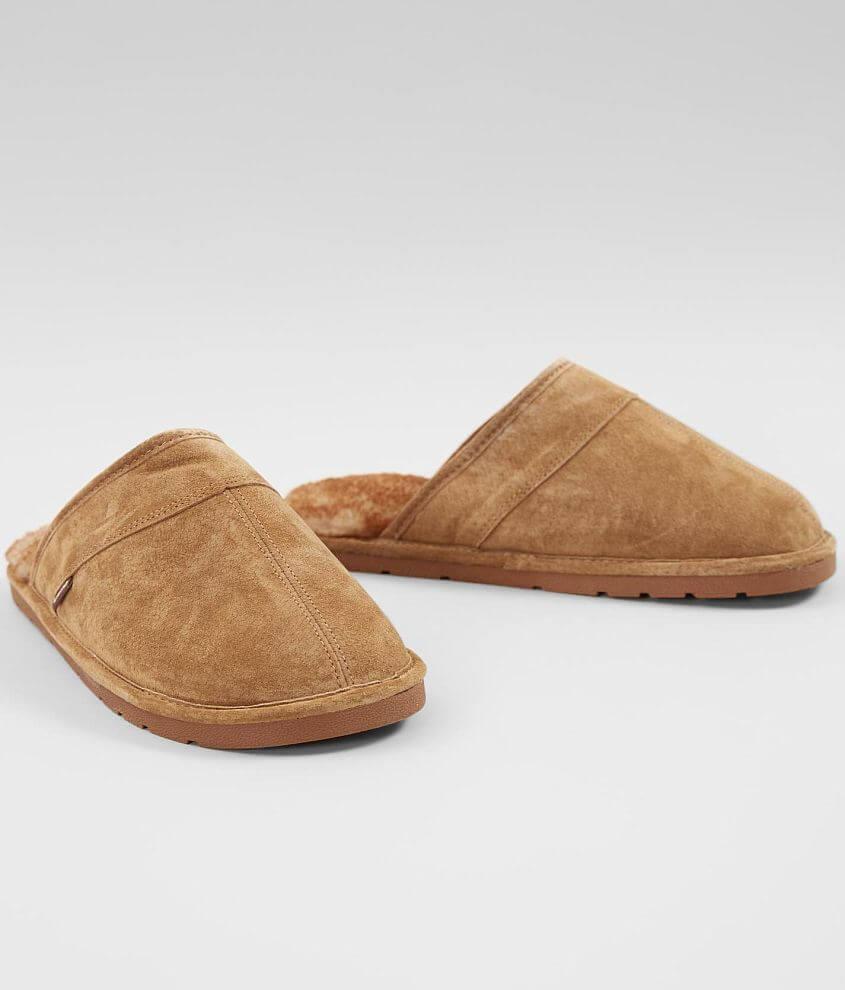 Lamo® Scuff Leather Slipper front view