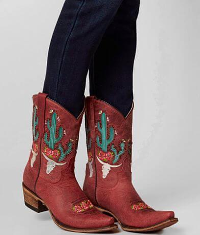 JUNK GYPSY by Lane Boots Bramble Rose Cowboy Boot
