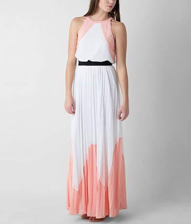 Soieblu Pleated Maxi Dress