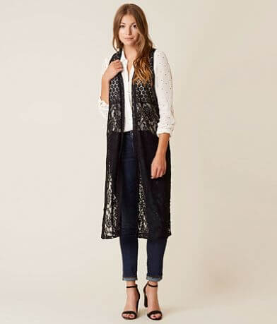 Daytrip Knit Lace Vest