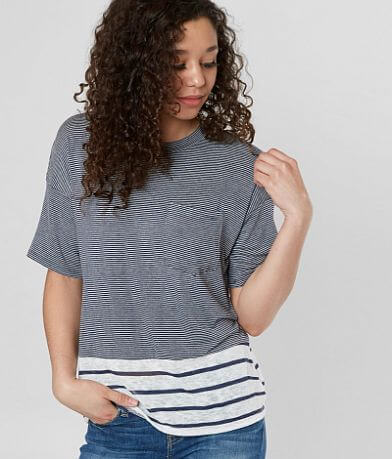 FITZ + EDDI Striped Top