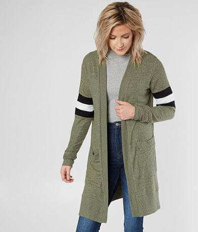 Daytrip Athletic Striped Cardigan