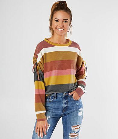 FITZ + EDDI Striped Pullover