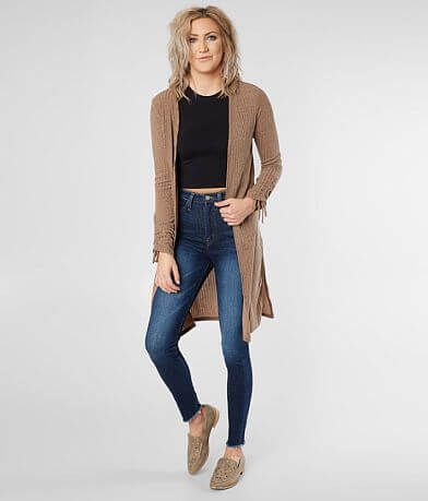 Daytrip Ribbed Duster Cardigan