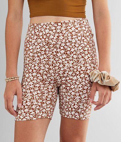 FITZ + EDDI Floral Knit Biker Short