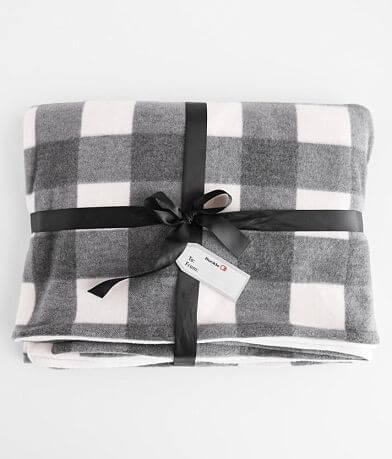 BKE Plaid Throw Blanket