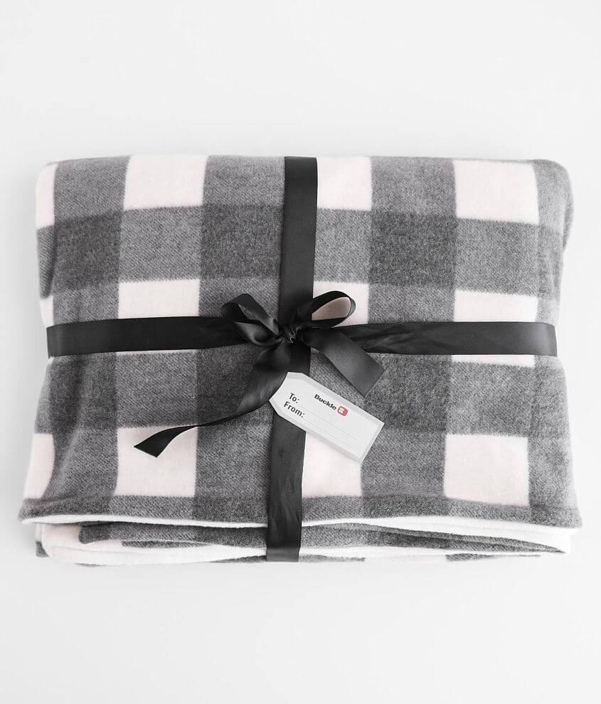 Brushed knit blanket Measures 57\\\