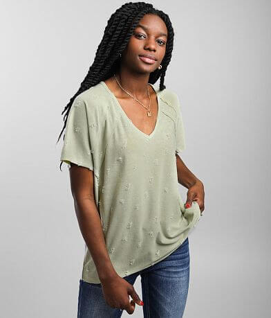 BKE Distressed T-Shirt