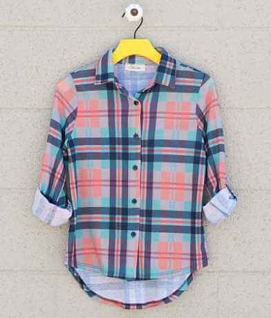 Girls - Daytrip Plaid Shirt