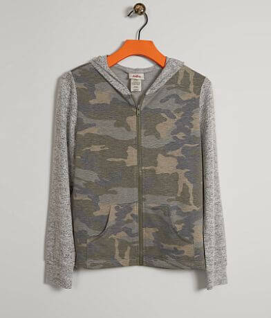 Girls - Daytrip Camo Sweatshirt
