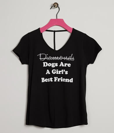 Girls - Daytrip Dogs Are A Girls Best Friend Top