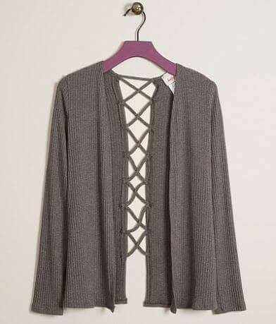 Girls - Daytrip Ribbed Cardigan