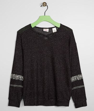 Girls - Daytrip Brushed Fleece Strappy Top