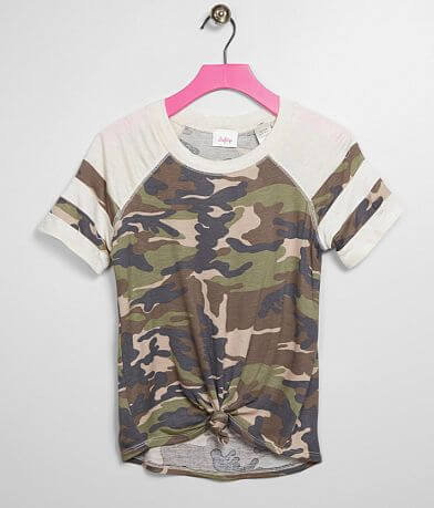 Girls - Daytrip Camo T-Shirt