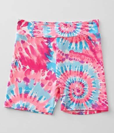 Girls - Daytrip Tie Dye Biker Short