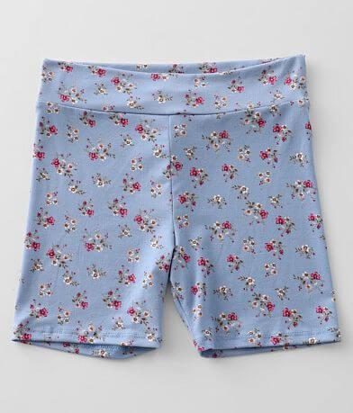 Girls - Daytrip Floral Biker Short