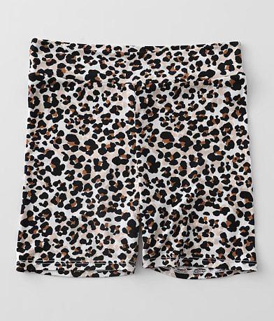 Girls - Daytrip Cheetah Print Biker Short