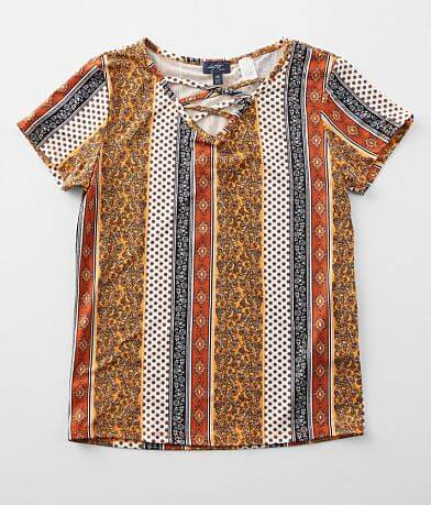 Girls - Daytrip Multi Print Top