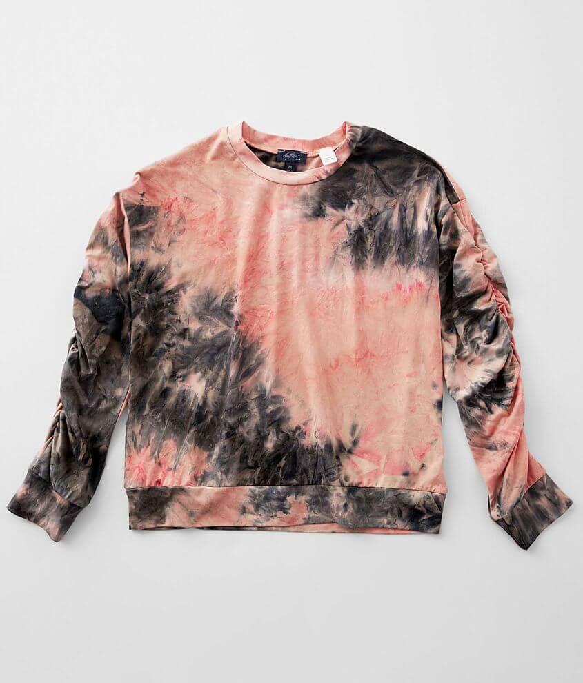 Girls - Daytrip Tie Dye T-Shirt front view
