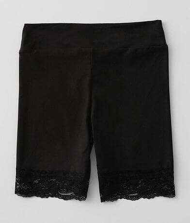 Girls - Daytrip Lace Trim Biker Short