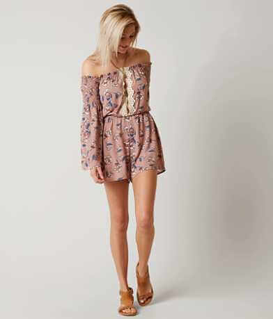 Daytrip Off The Shoulder Romper
