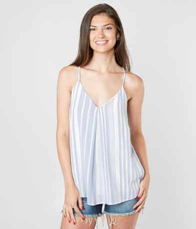 Daytrip Striped V-Neck Tank Top