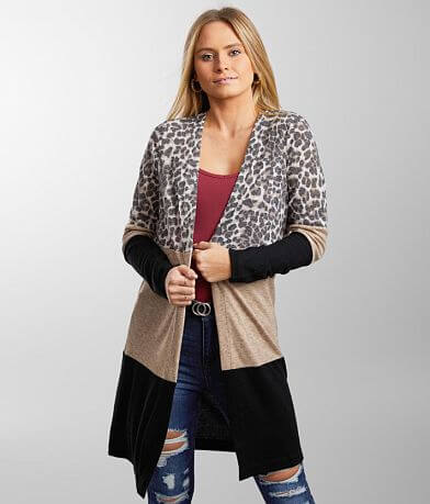 Daytrip Color Block Cardigan