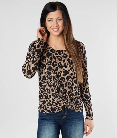Daytrip Cheetah Print Top