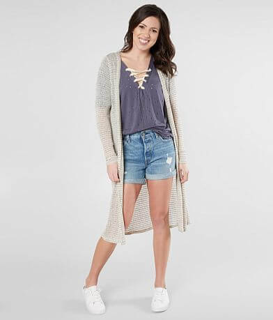 Daytrip Textured Lightweight Cardigan