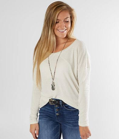 Daytrip Ribbed Knit Top